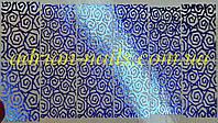 Фольгированный слайдер дизайн №16 - синий, фото 1