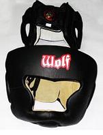 Шлем закрытый боксерский  ТМ WOLF...