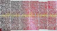 Фольгированный слайдер дизайн №17 - красный, фото 1