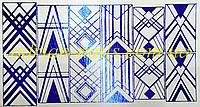 Фольгированный слайдер дизайн №20 - синий, фото 1