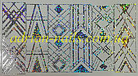 Фольгований слайдер дизайн №22 - голографик, фото 1
