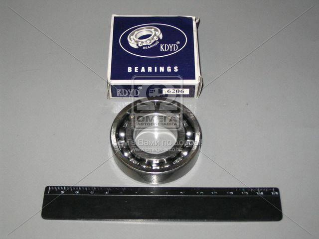 Подшипник 206 (6206) (Курск) рулевого управления МАЗ, МТЗ, Т-150, шестерни задний хода КПП МТЗ 206, AAHZX