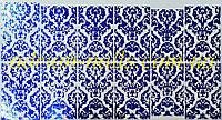 Фольгированный слайдер дизайн №27 - синий, фото 1