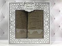 Подарочный набор полотенец Sweet Dreams (баня+лицо) № 32561