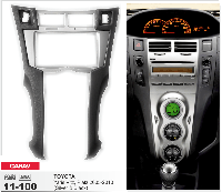 Переходная рамка CARAV 11-100 2 DIN (Toyota Yaris,Vitz, Platz)
