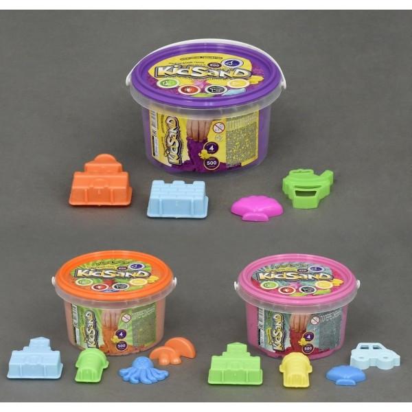 Кинетический песок 0,35кг KidSand Danko toys