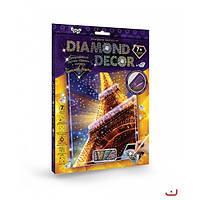 Набор креативного творчества DIAMOND DECOR Бриллиантовый Блеск
