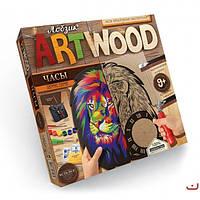 Набор для выпиливания Art Wood Часы Danko Toys