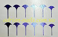 Фольгированный слайдер дизайн №30 - синий, фото 1