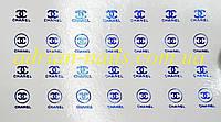 Фольгированный слайдер дизайн №51-синие, фото 1