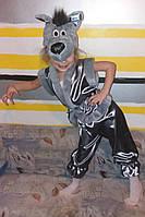 Детский карнавальный костюм волк №1 , фото 1
