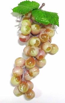 Виноград искусственный 19 см, розовый