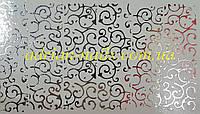 Фольгированный слайдер дизайн №56-серебро, фото 1