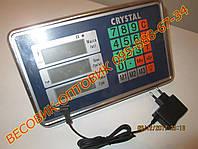Весовой стальной индикатор с БП Кристалл (голова) 0,01-10000кг, фото 1
