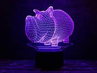 "Сменная пластина для 3D ламп ""Дог Мог"" 3DTOYSLAMP, фото 1"
