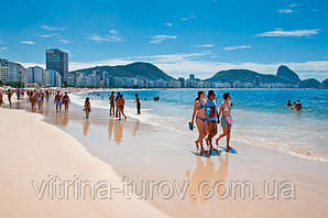 Бразильская панорама – экскурсии+пляж 9 ночей / 10 дней