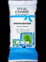 VITAL CHARM Влажные салфетки для рук Феерия ментола 15 шт (4820091140470)