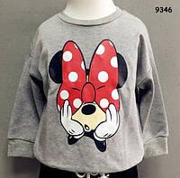 Кофта Minnie Mouse для девочки. 80, 90, 100 см, фото 1