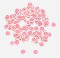 "Фимо для ногтей №28 ""Розы"", фото 1"