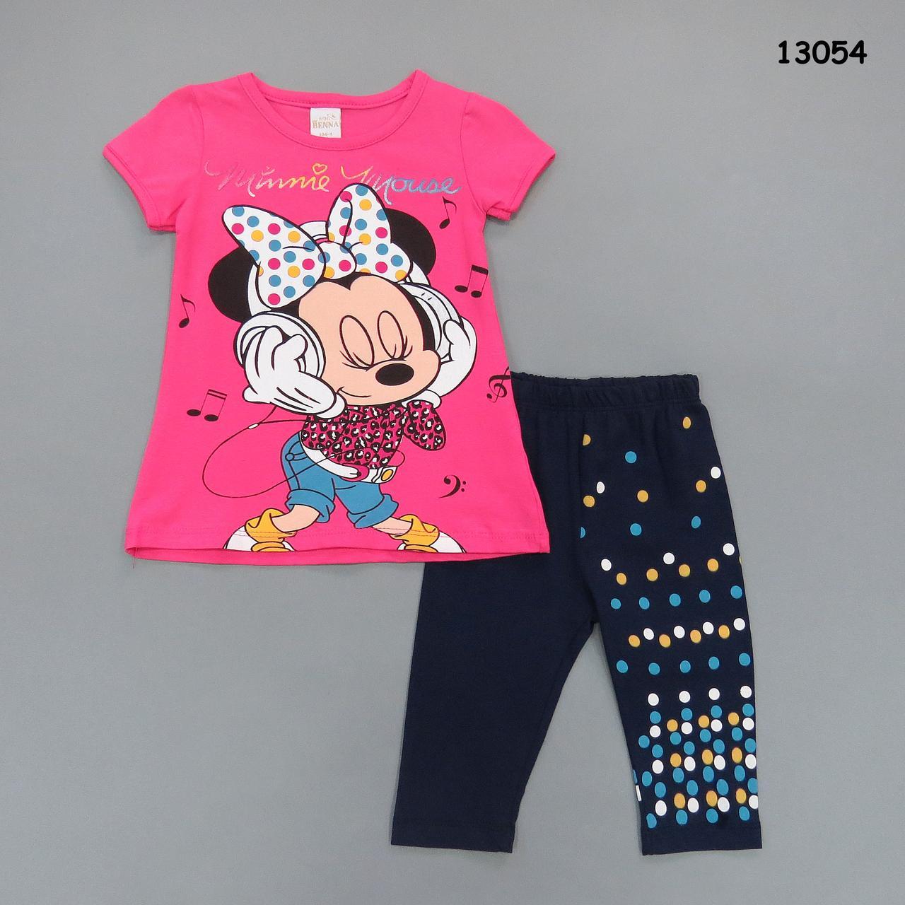 Летний костюм Minnie Mouse для девочки. Маломерит., фото 1
