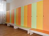 Шкафы и лавочки для детского сада, фото 5