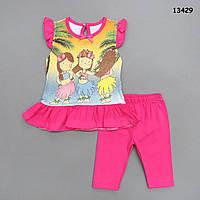 Летний костюм для девочки. 68, 80, 86 см, фото 1