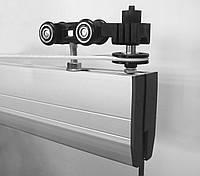 Система синхронного раздвижения стеклянных дверей, фото 1