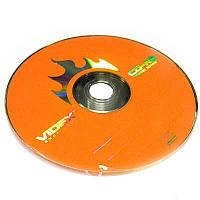 Диск CD-RW   Videx 700Mb  4-12x (bulk 50)