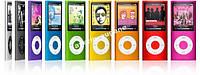 MP4 Ipod MP3 плеєр з FM, диктофон 4 Гб пам'яті, фото 1