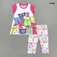 "Летний костюм ""Котята"" для девочки. 2 года, фото 1"