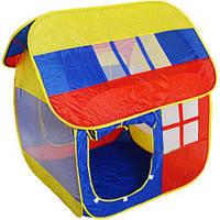 Палатка игровая детская домик M 0508