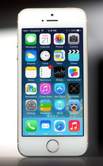 Копия Iphone 5S / 1 сим / емкостной экран, фото 1