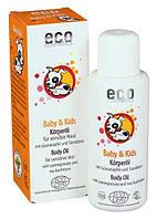 Детское масло с экстрактами граната и облепихи Eco cosmetics