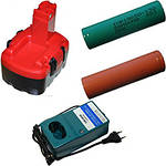 Аккумуляторы и зарядные устройства для шуруповертов