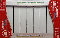 Биметаллический радиатор Alltermo Super Bimetal 500/100 - 10 секций