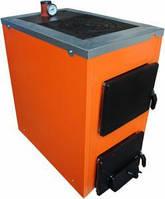Твердотопливный котел ТермоБар АКТВ 16 кВт с чугунной плитой