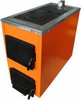 Котел твердотопливный ТермоБар АКТВ 20 кВт с чугунной плитой