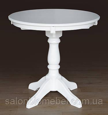 Стол обеденный раскладной Чумак-2 белый