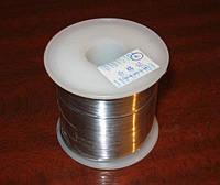 Припой ПОС - 61, 1 мм. с флюсом, 500гр.