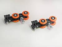 Система для стеклянных раздвижных перегородок весом до 150 кг, фото 1