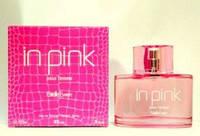 Женская парфюмированная вода in pink 100 ml