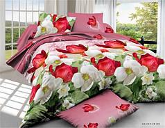Евро набор постельного белья 200*220 из Полиэстера №154 Черешенка™