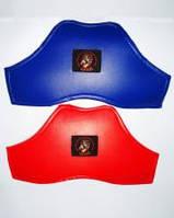 Нагрудник защитный.(защита груди;Расцветки: синий, красный. Размеры:M, L.)