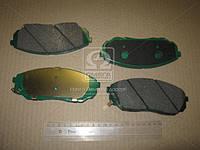 Колодки тормозные дисковые (пр-во Mobis) 581013EE01