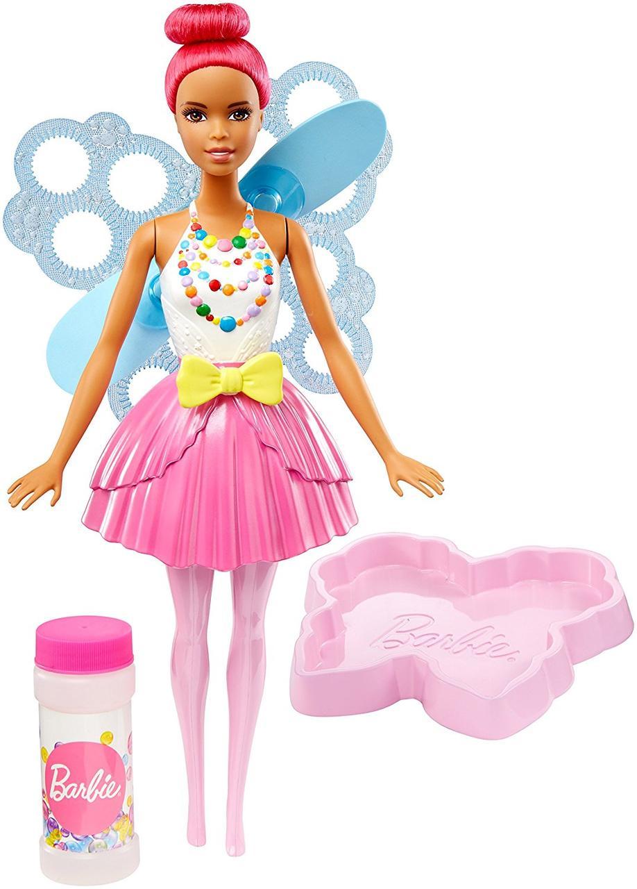"Лялька Барбі Фея Солодкі бульбашки ""Дримтопия"" / Barbie Dreamtopia Bubbletastic Fairy Doll"