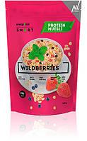 Мюсли протеиновые  Energy Diet Smart Wildberries Мюсли с клубникой и черникой