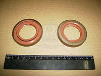 Сальник полуоси ВАЗ 2108 левый 35х57х9 красный с пружиной (Производство БРТ) 2108-2301035Р