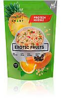 Мюсли протеиновые  Energy Diet Smart Exotic Fruits Мюсли с ананасом, апельсином и папайей