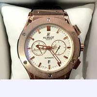 Мужские наручные часы Hublot Big Bang Gold White механика с автоподзаводом 5981,женские наручные часы, мужские