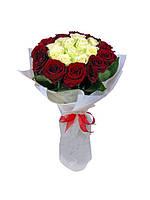 """Букет роз """"Гармония"""" 25 шт"""